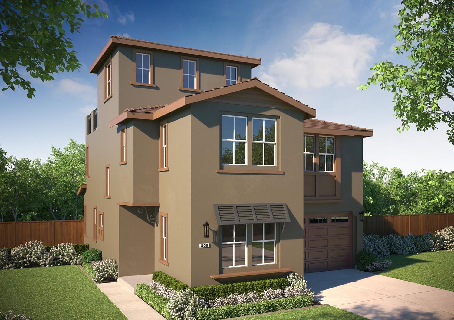 Residence 2 Alt. DeNova Homes Floorplan