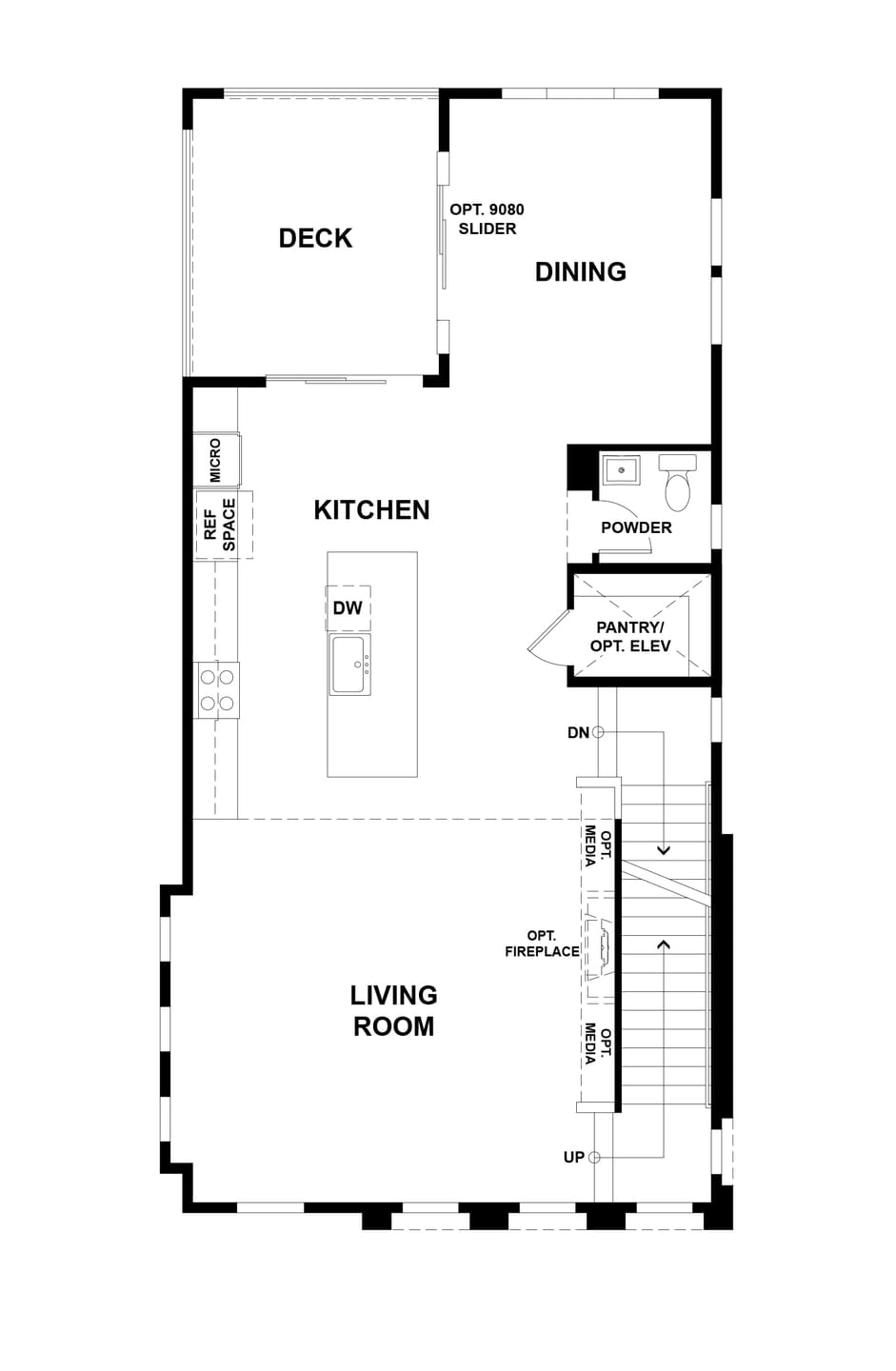 Second Level. 3br New Home in San Jose, CA