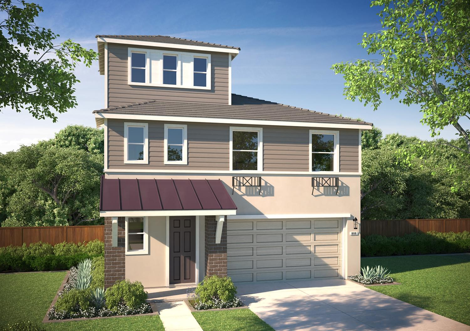 Residence 1 Alt. DeNova Homes Floorplan