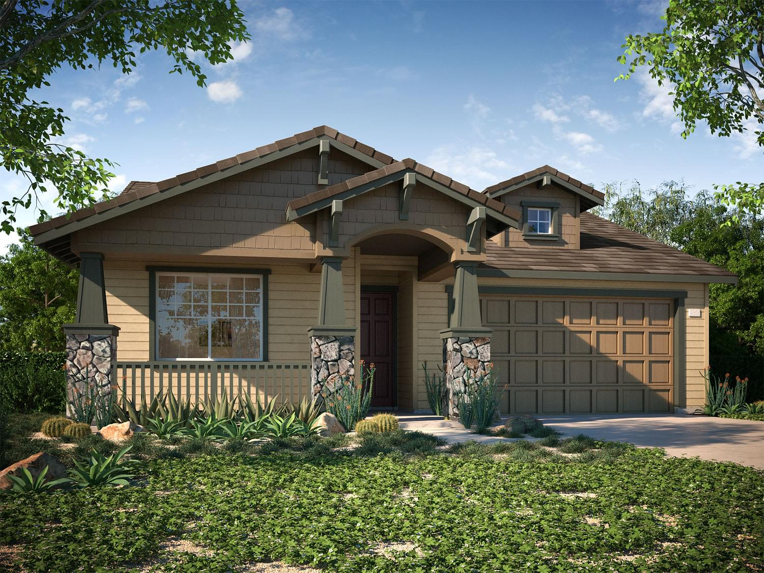 Nicklaus DeNova Homes Floorplan