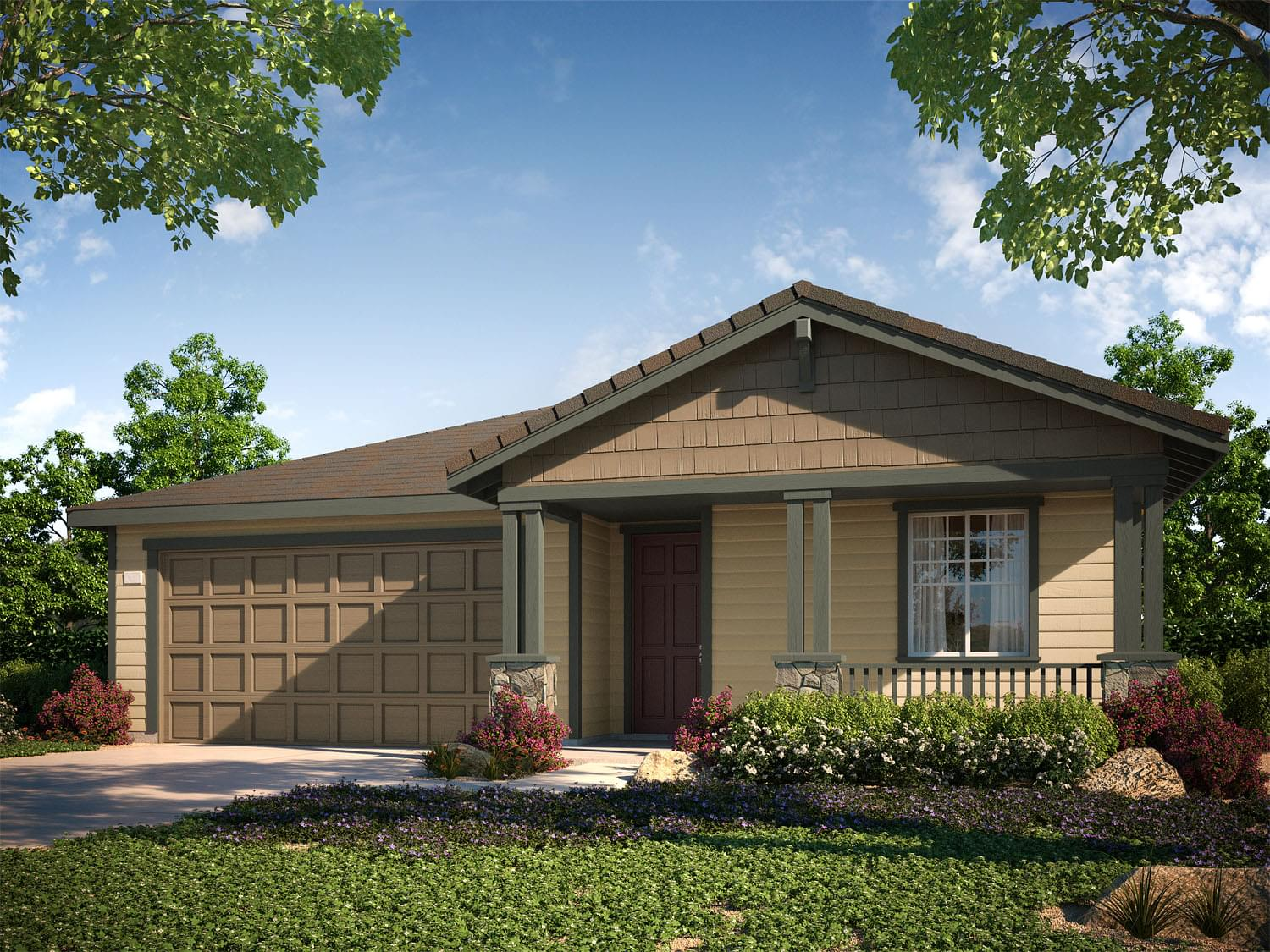 Trevino  DeNova Homes Floorplan