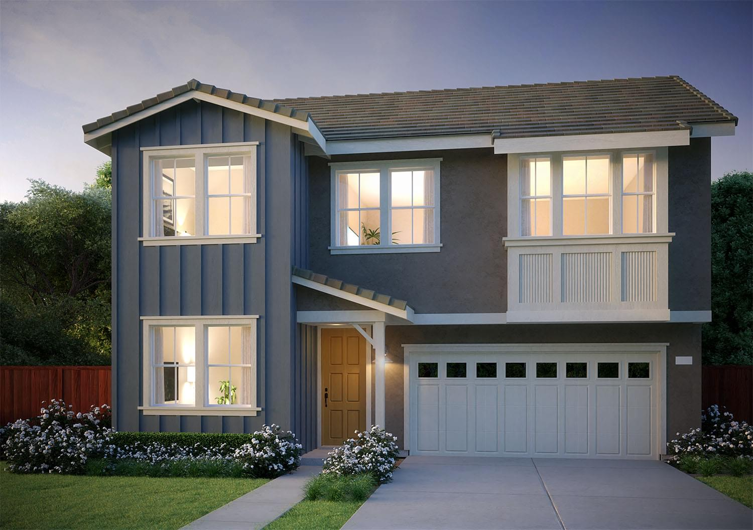 Residence 2X DeNova Homes Floorplan