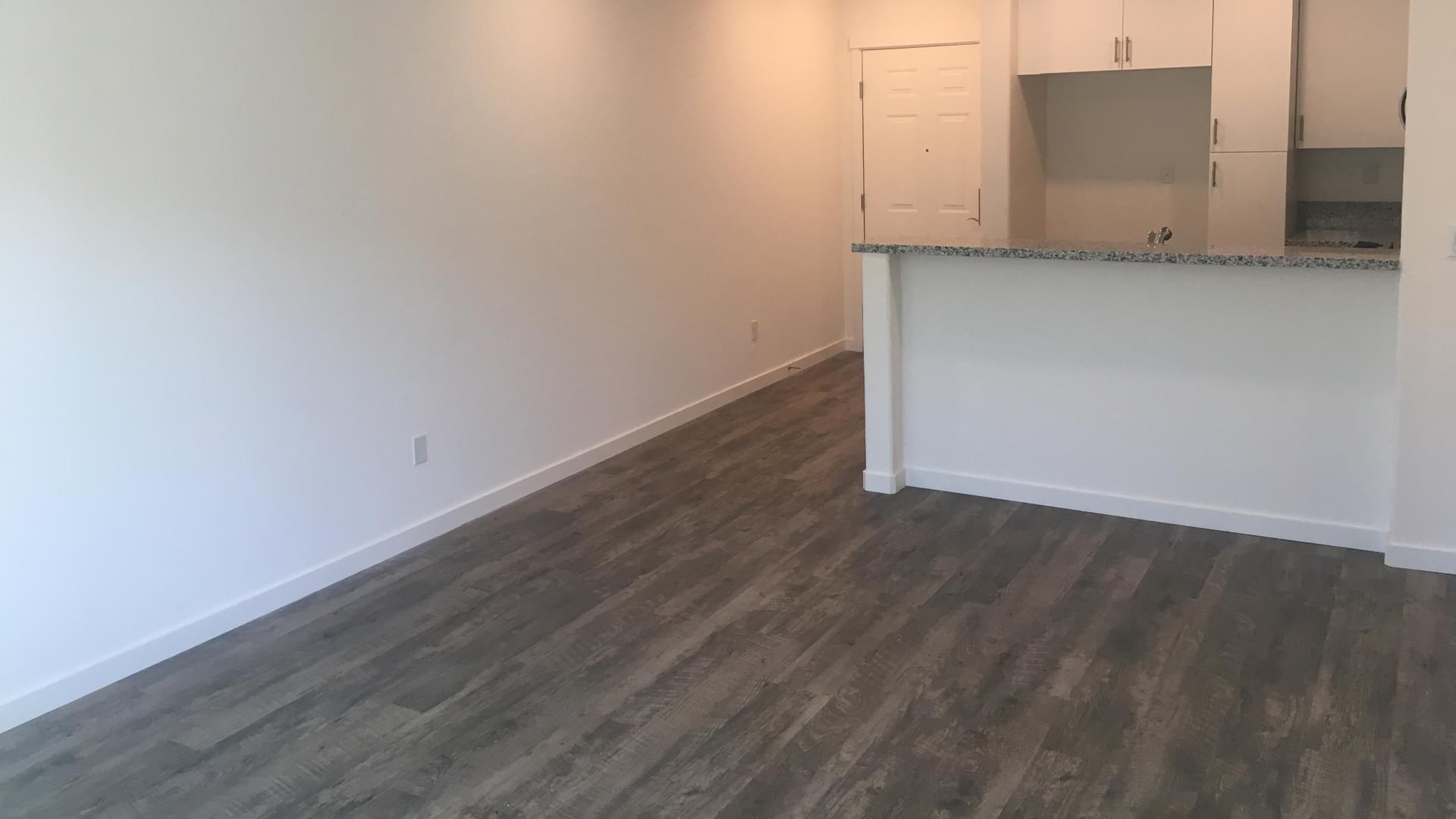 Unit 3302 Kitchen & Living Room