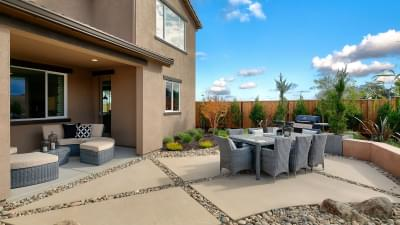 Residence 5 Covered Patio/Backyard
