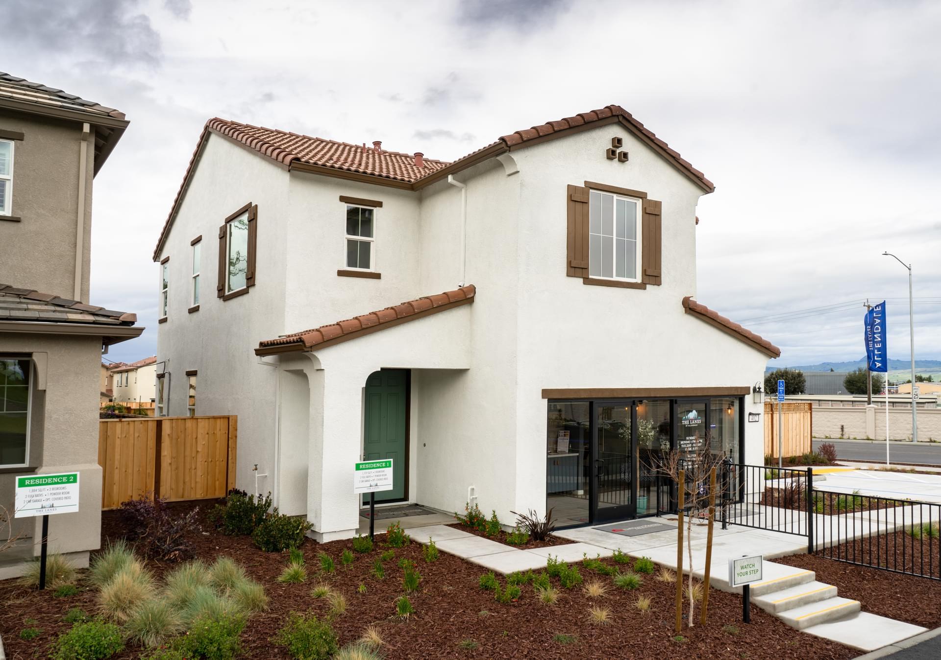 Residence 1 Model Exterior