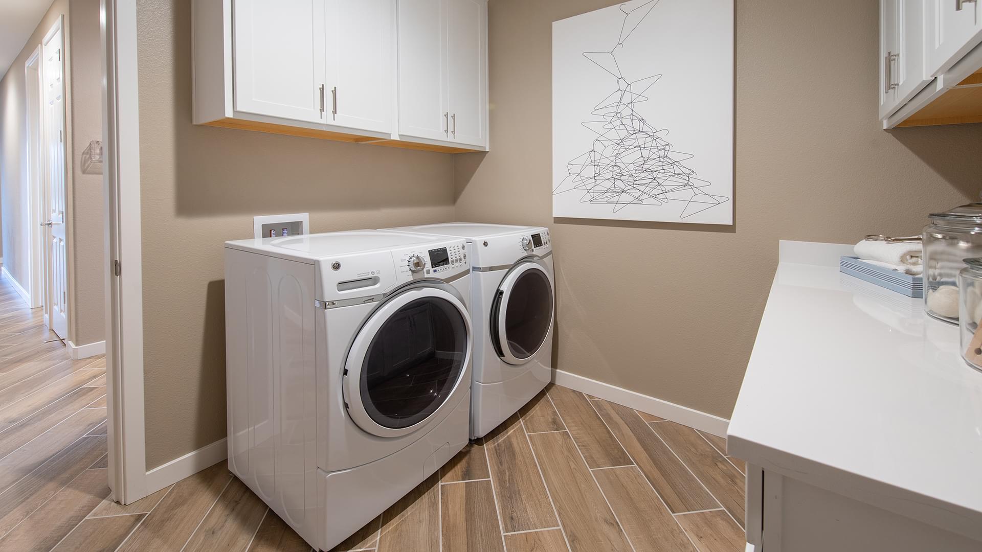 Residence 3 Laundry Room