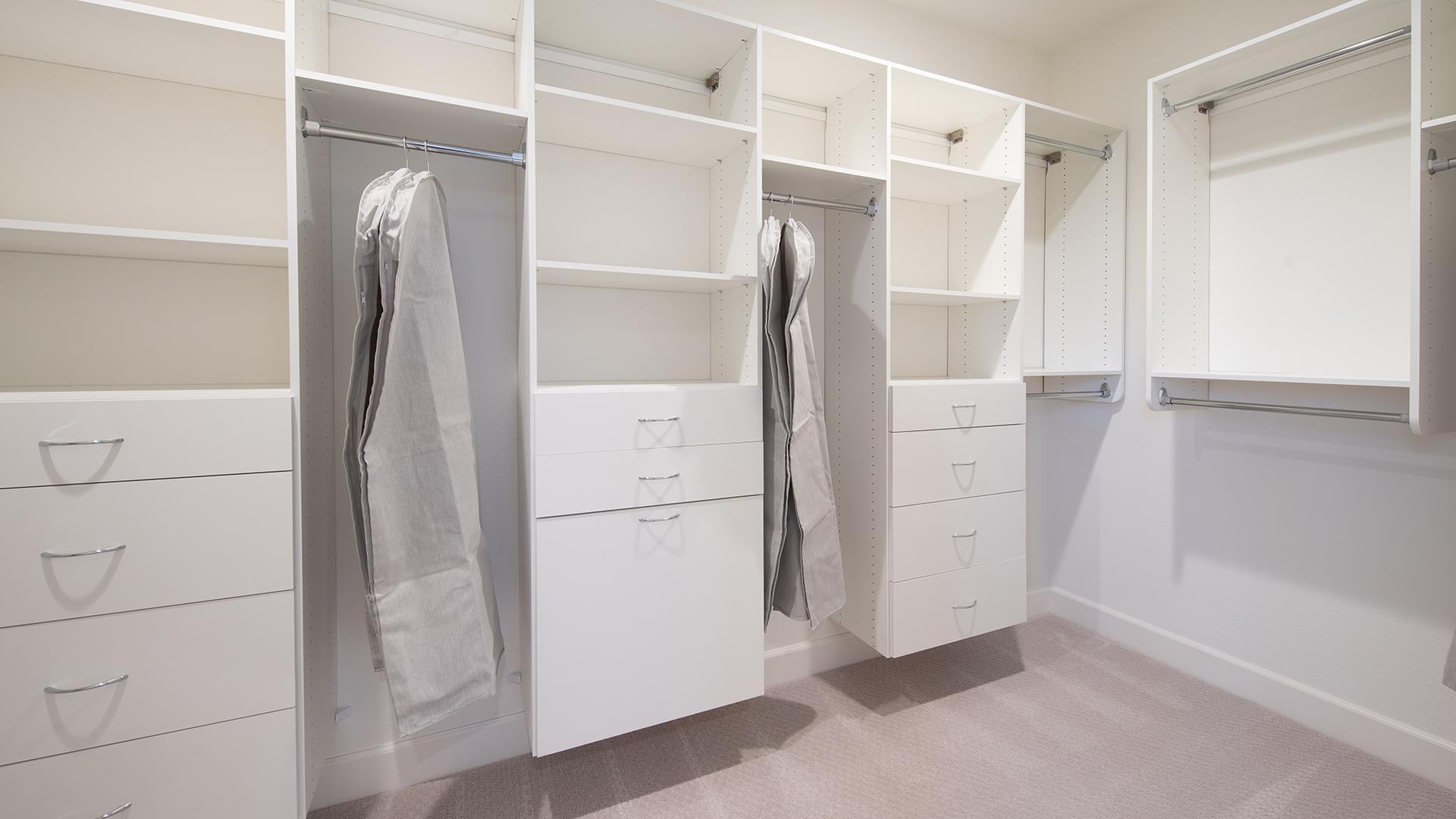 Residence 5 Master Walk-In Closet