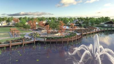 Delaney Park Community Lake
