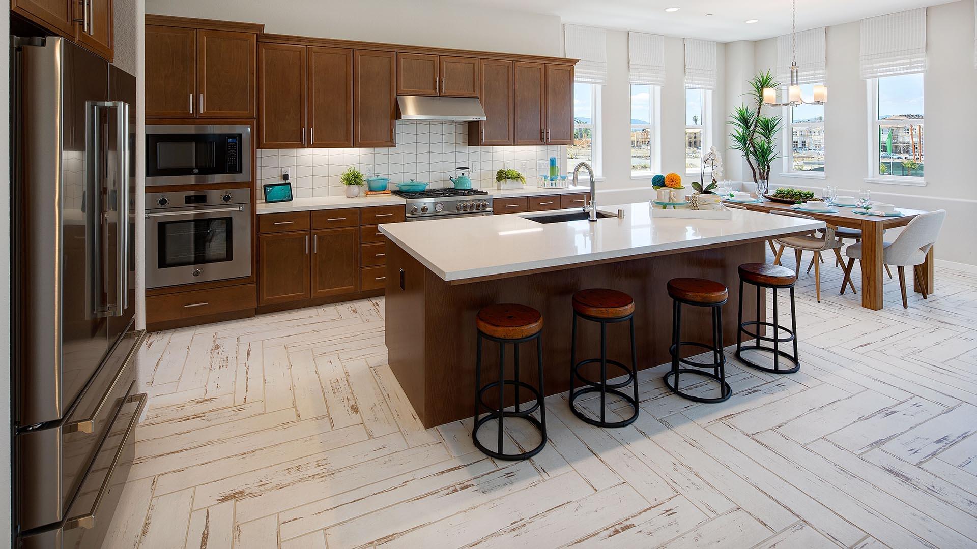 Residence 3 Model Kitchen