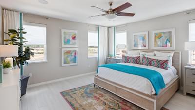 Residence 3 Model Master Bedroom