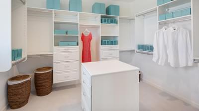 Residence 3 Model Master Walk-In Closet