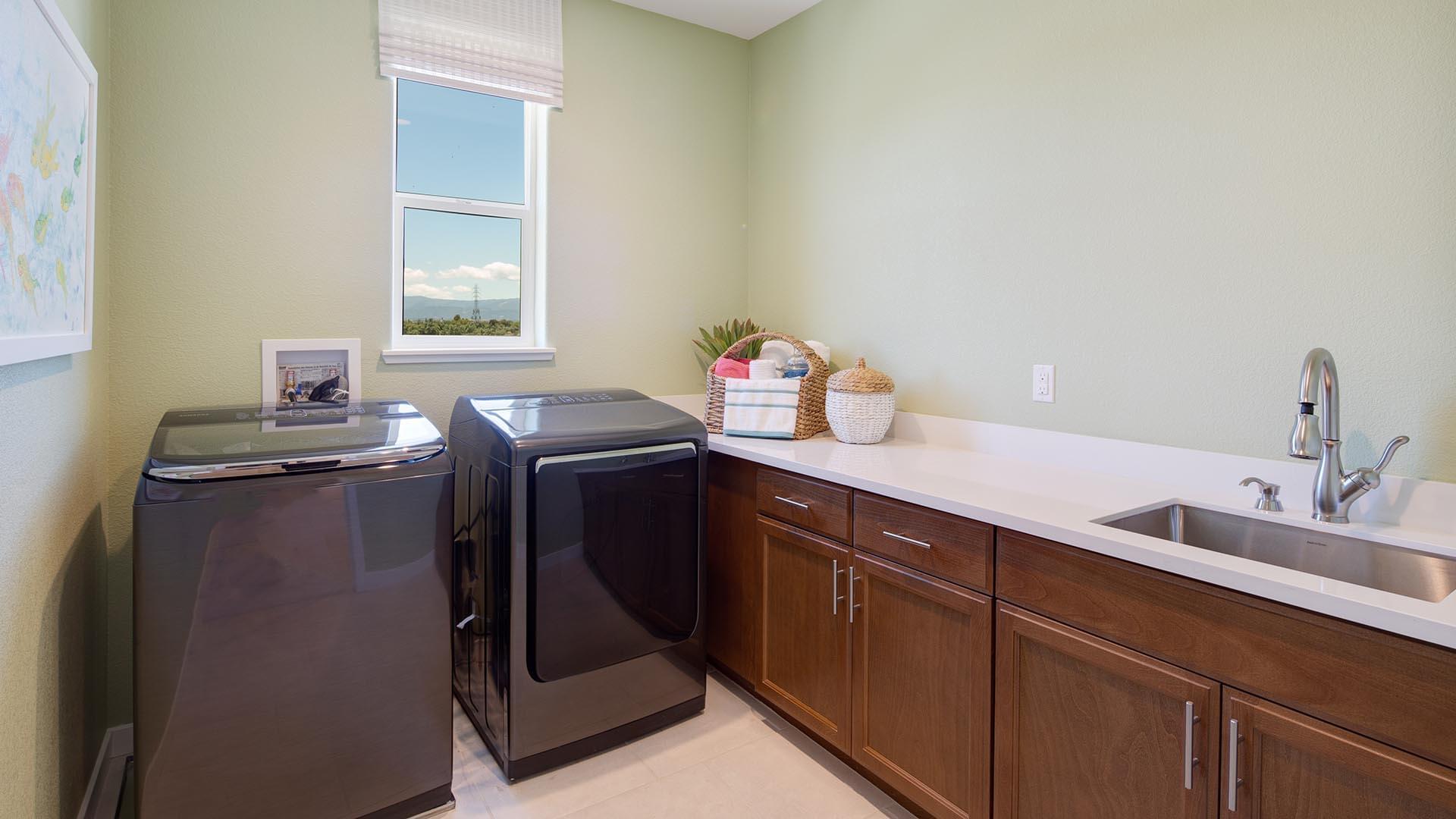 Residence 3 Model Laundry Room