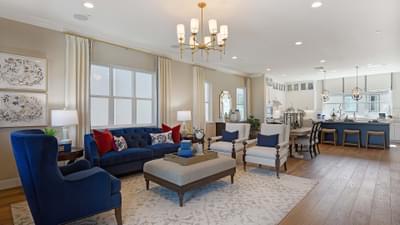 Residence 1A Living Room