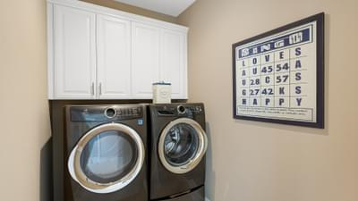Residence 1A Laundry