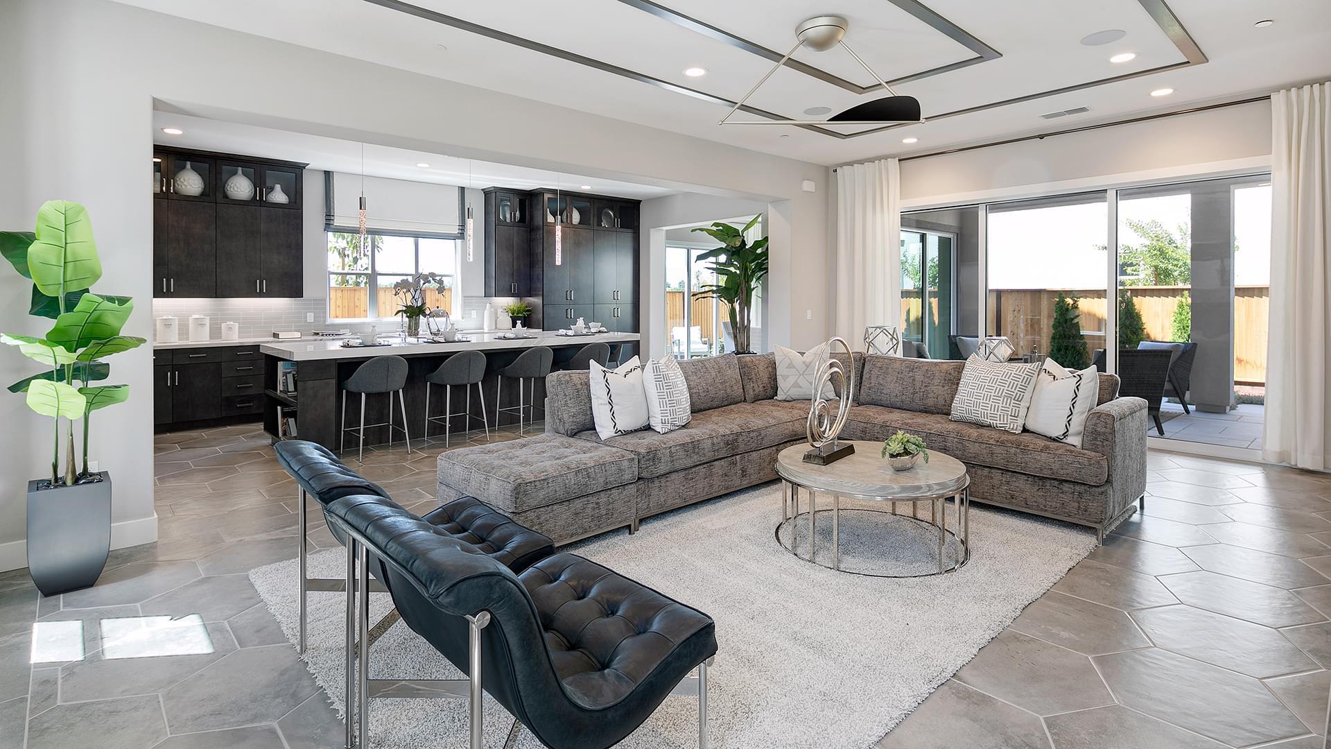 Residence 4A Living Room