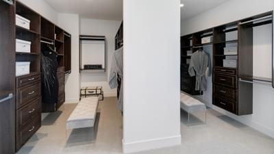 Residence 4A Master Walk-In Closet