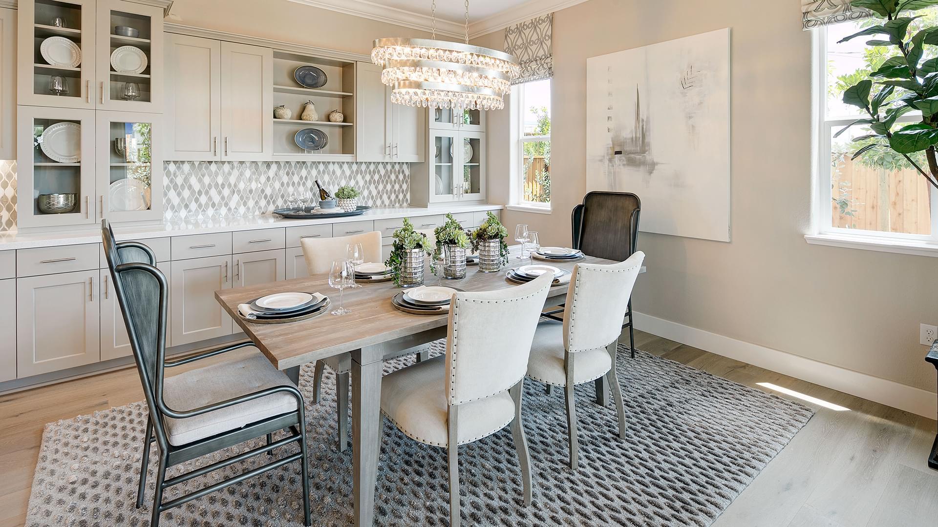 Residence 5B Dining Room
