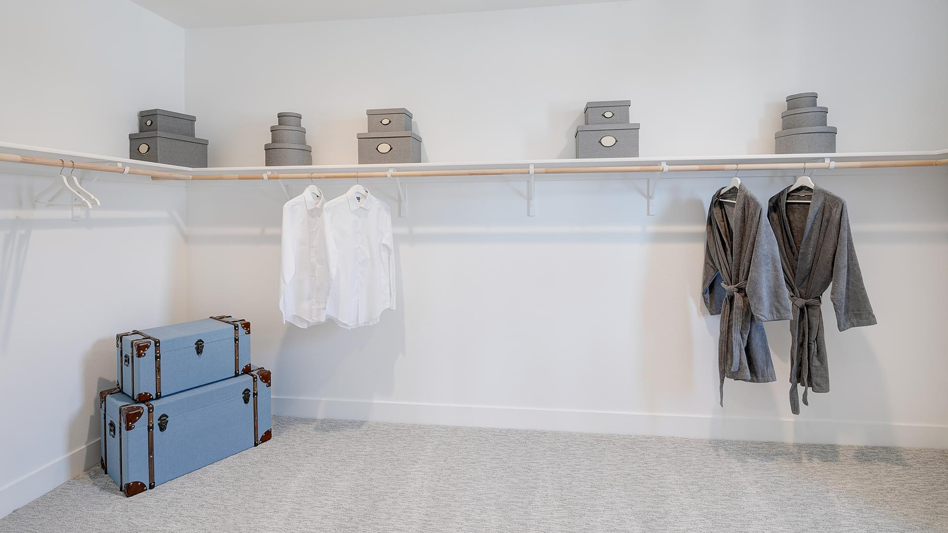 Residence 5B Master Walk-In Closet