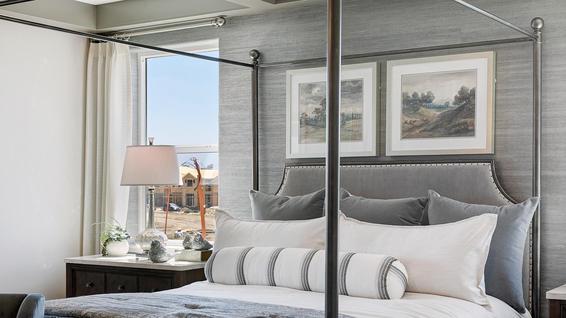 Residence 5B Master Bedroom