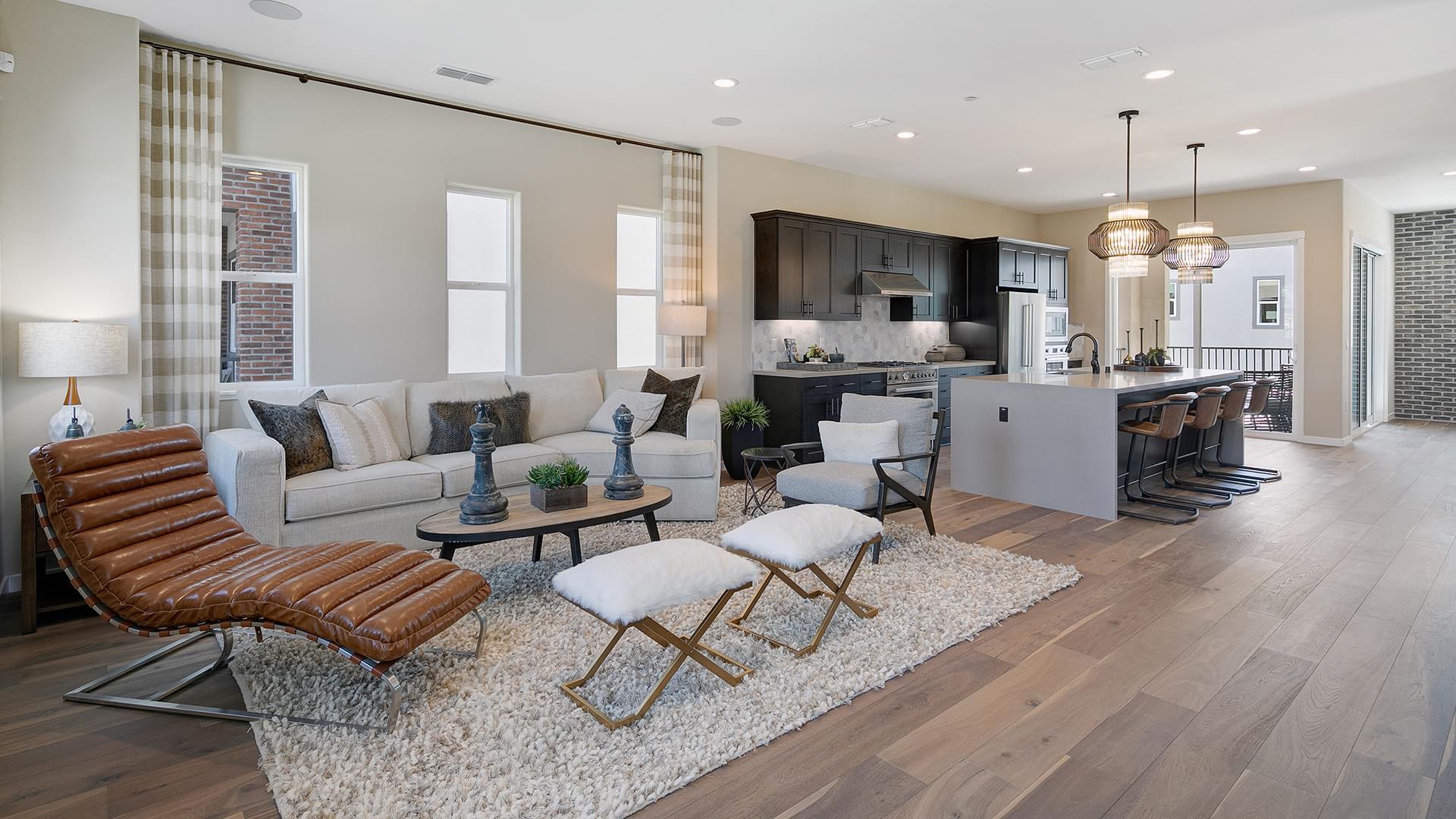 Residence 2B Living Room