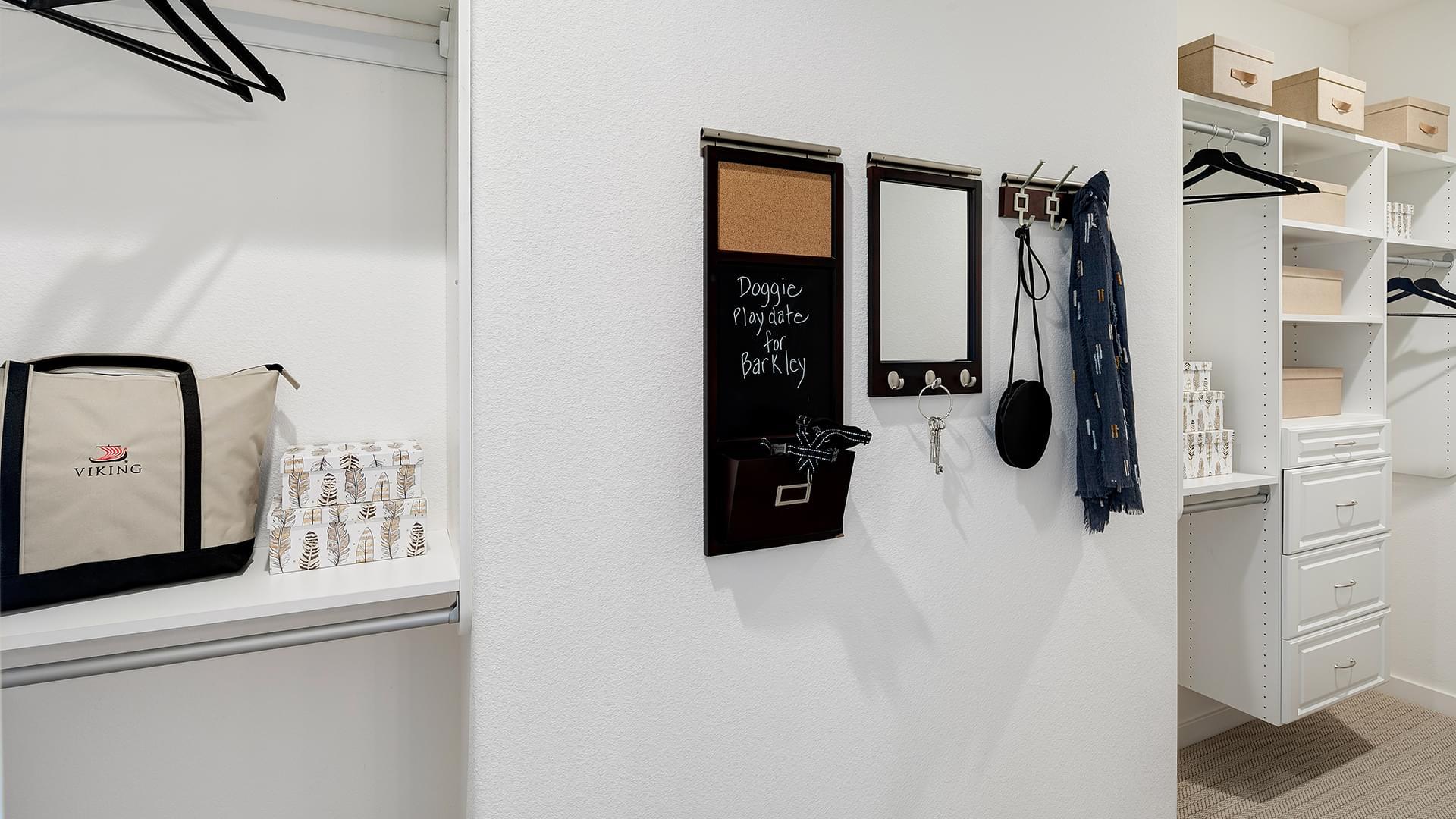 Residence 2B Master Walk-In Closet
