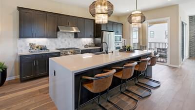 Residence 2B Kitchen