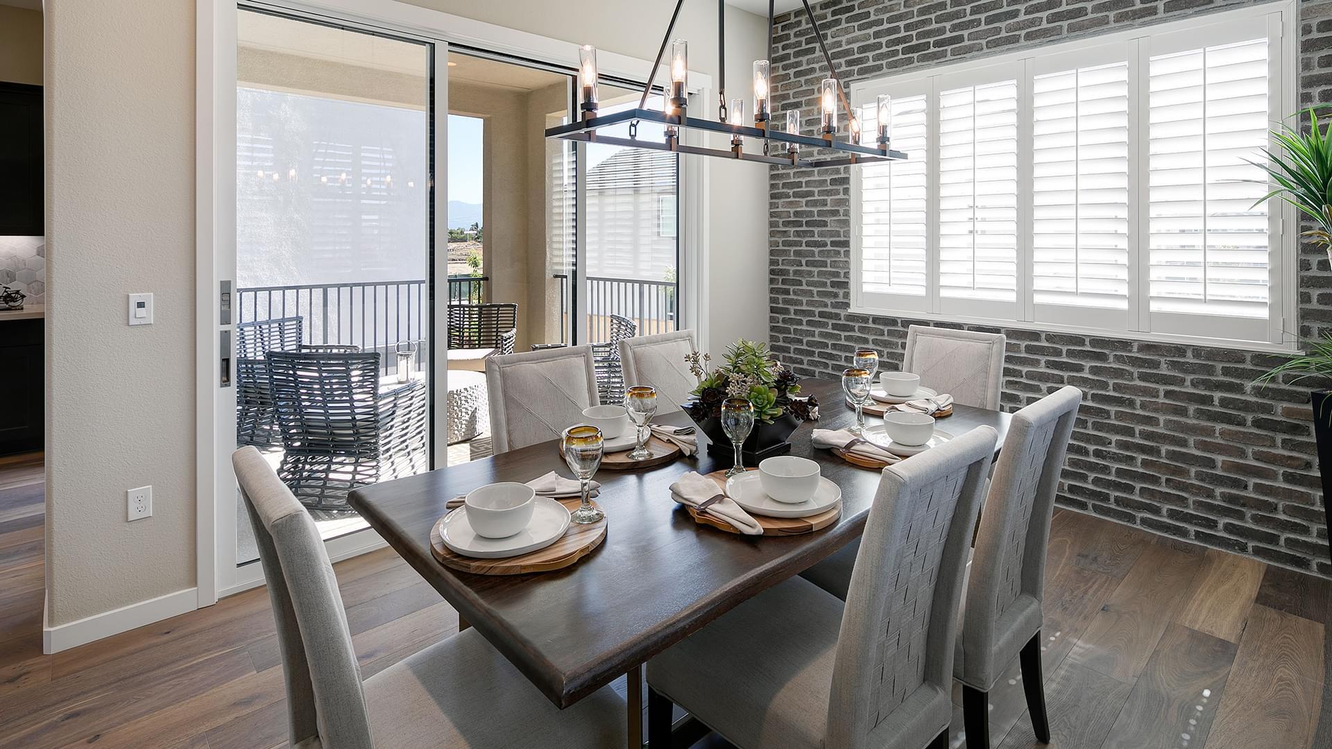 Residence 2B Dining Room