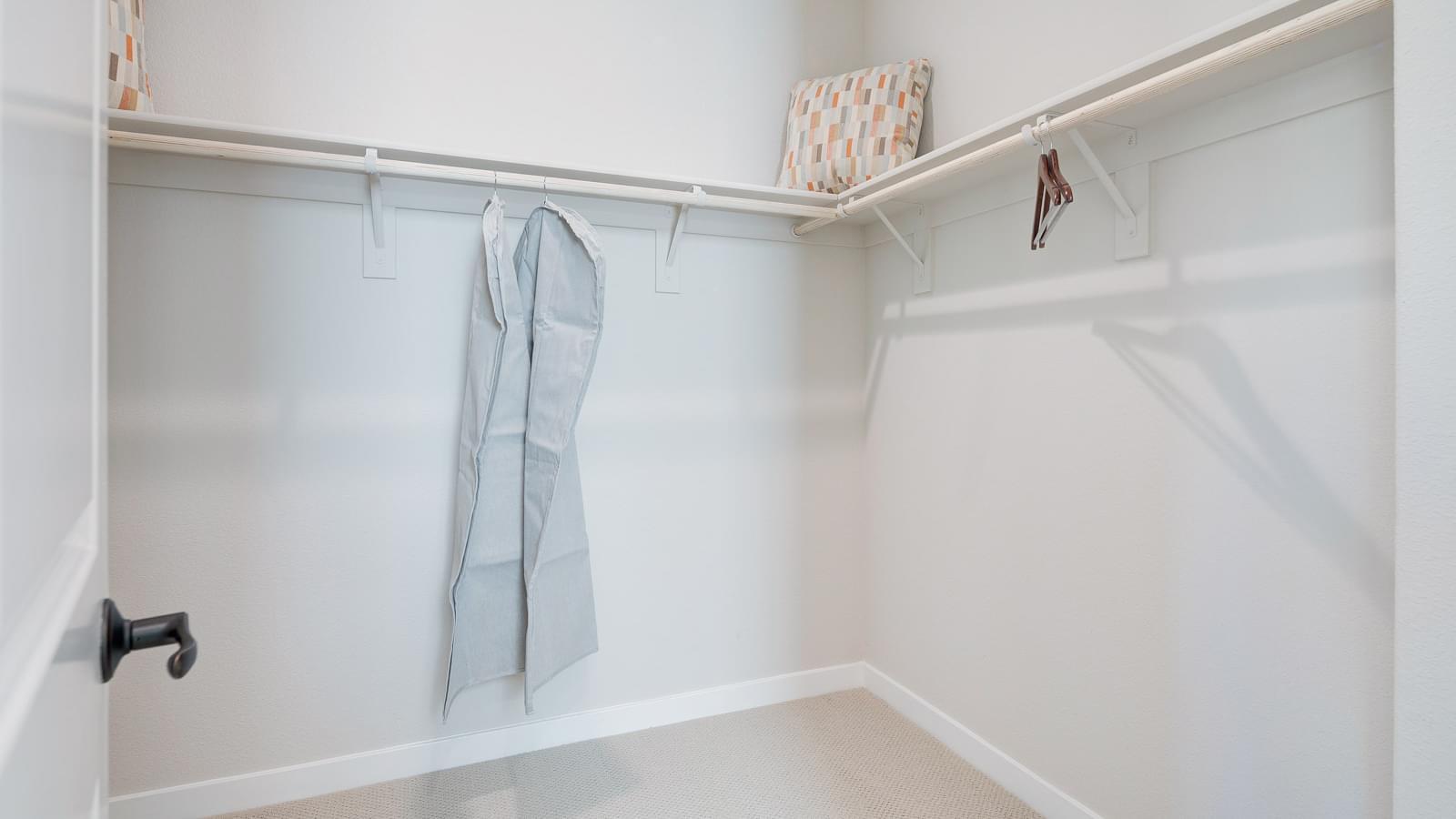 Residence 2 Master Walk-In Closet