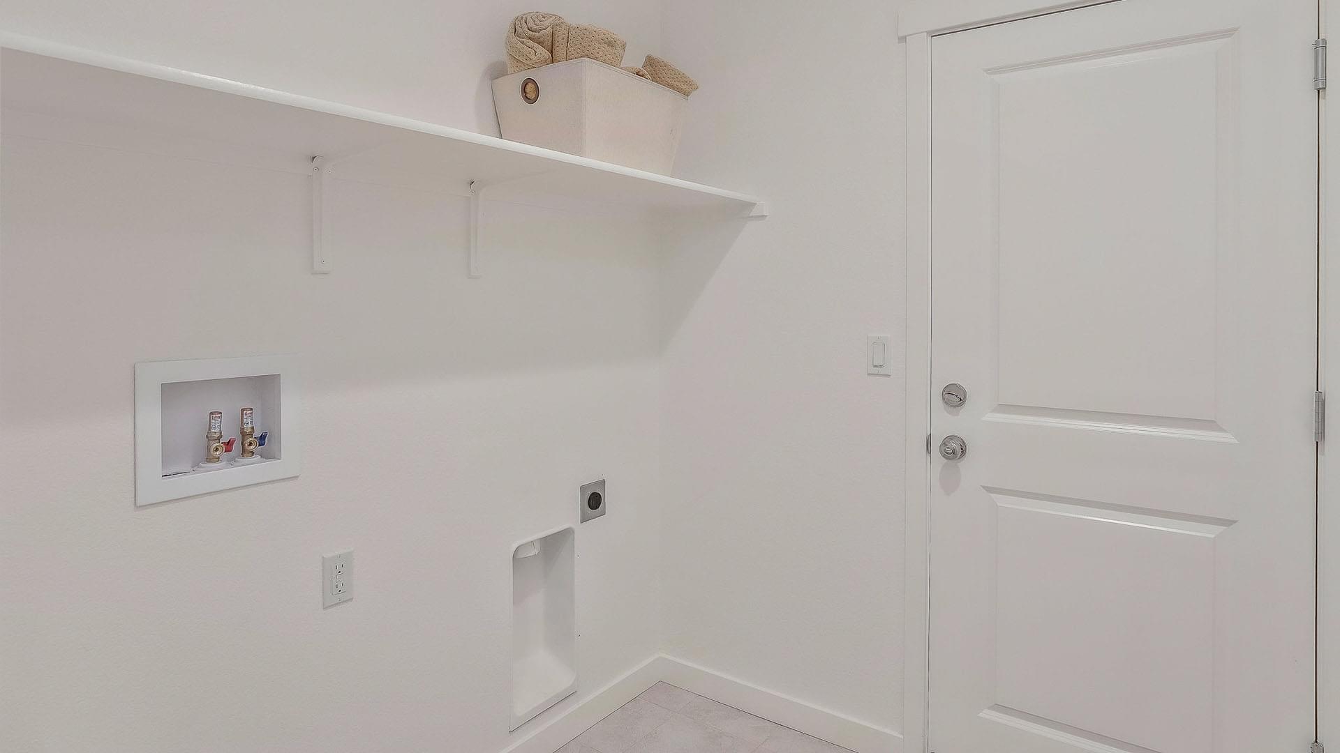 Residence 2 Laundry Room