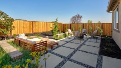 Residence 2 Backyard