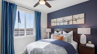 Residence 3 Secondary Bedroom