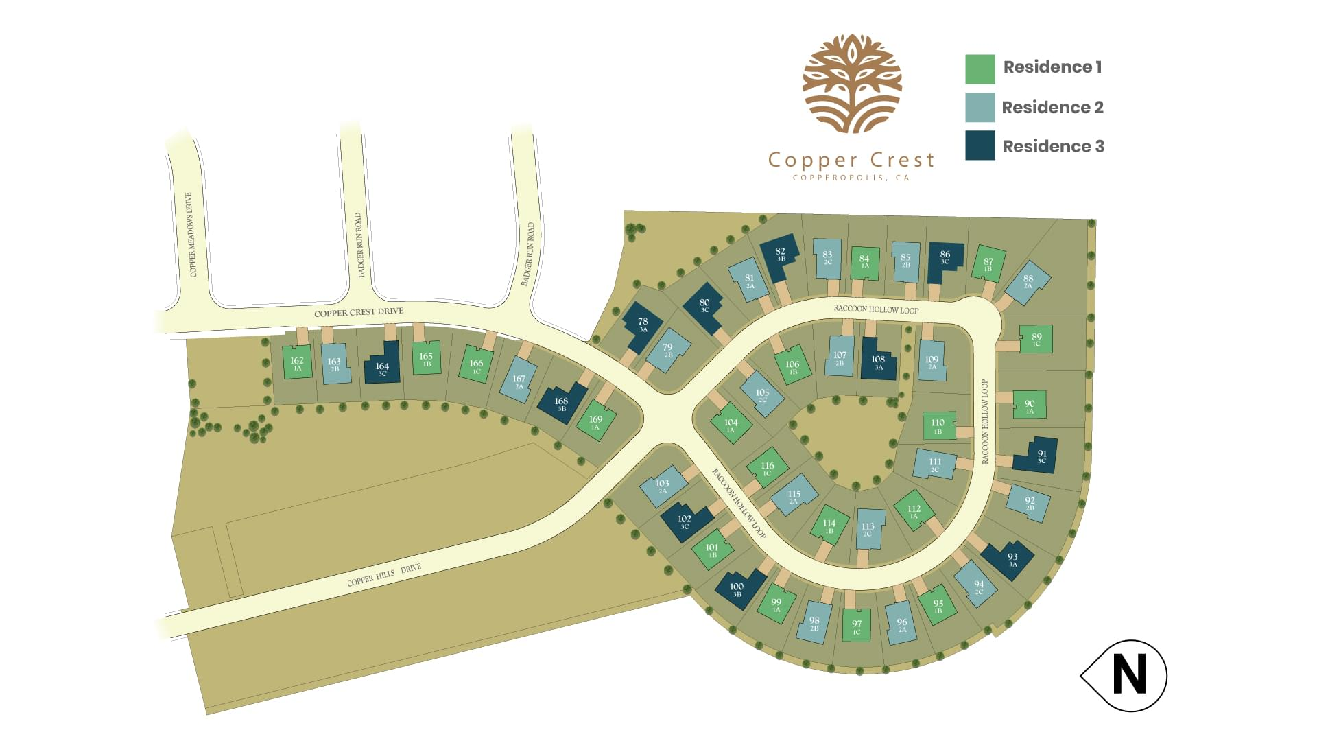 Copper Crest New Homes in Copperopolis, CA