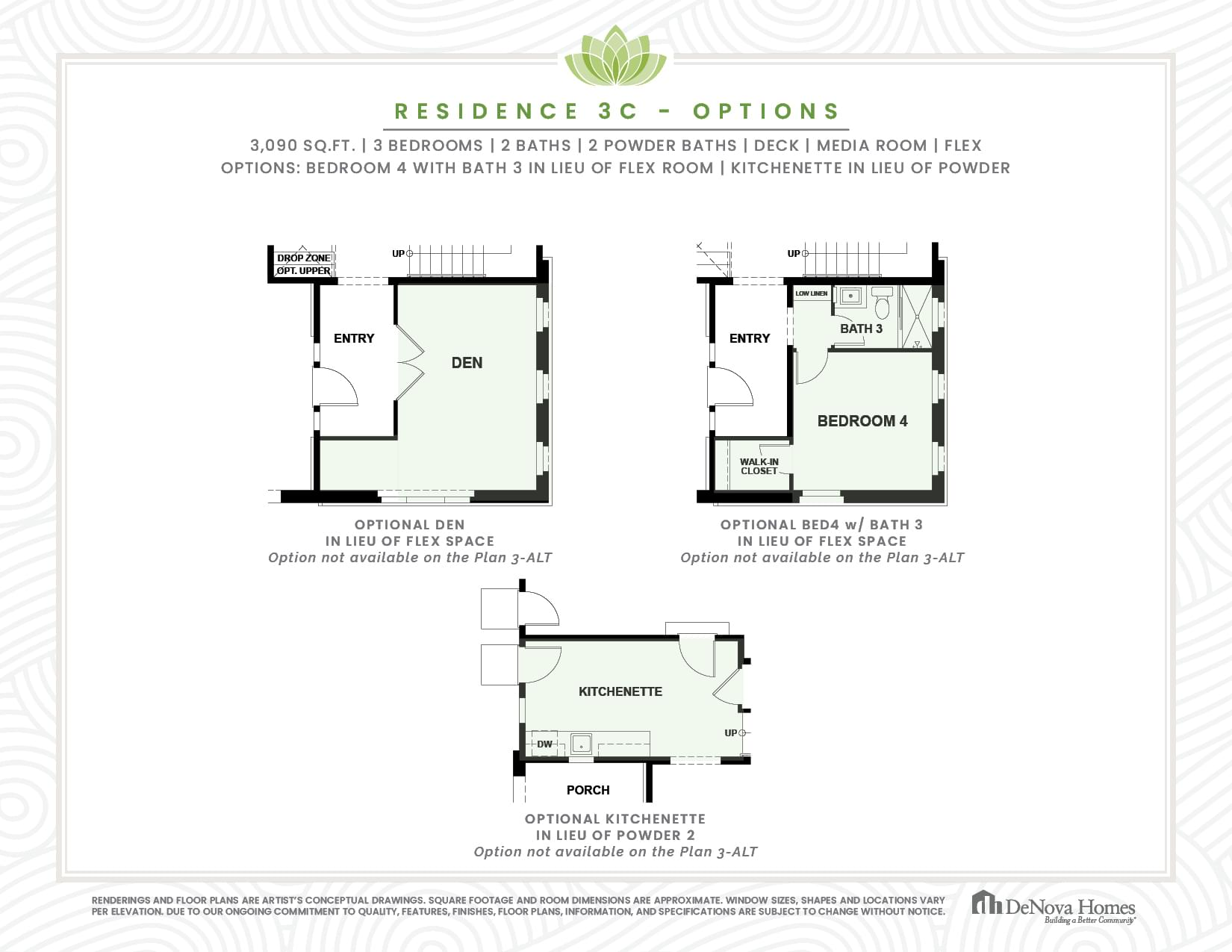 Residence 3 Options. New Home in San Jose, CA