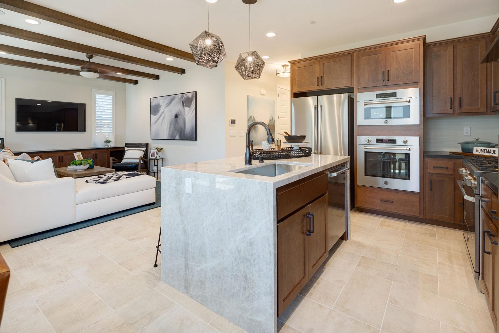 Residence 3 Kitchen& Living Room