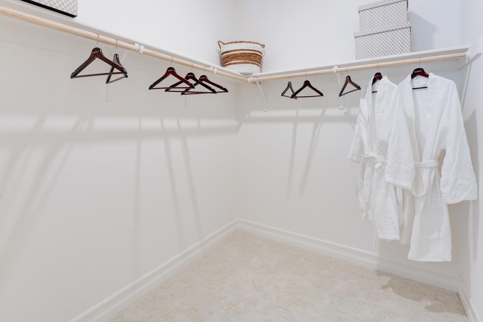 Residence 3 Master Walk-In Closet