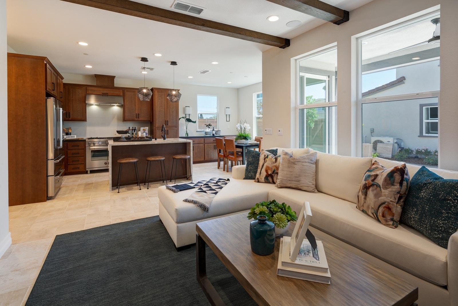 Residence 3 Kitchen & Living Room