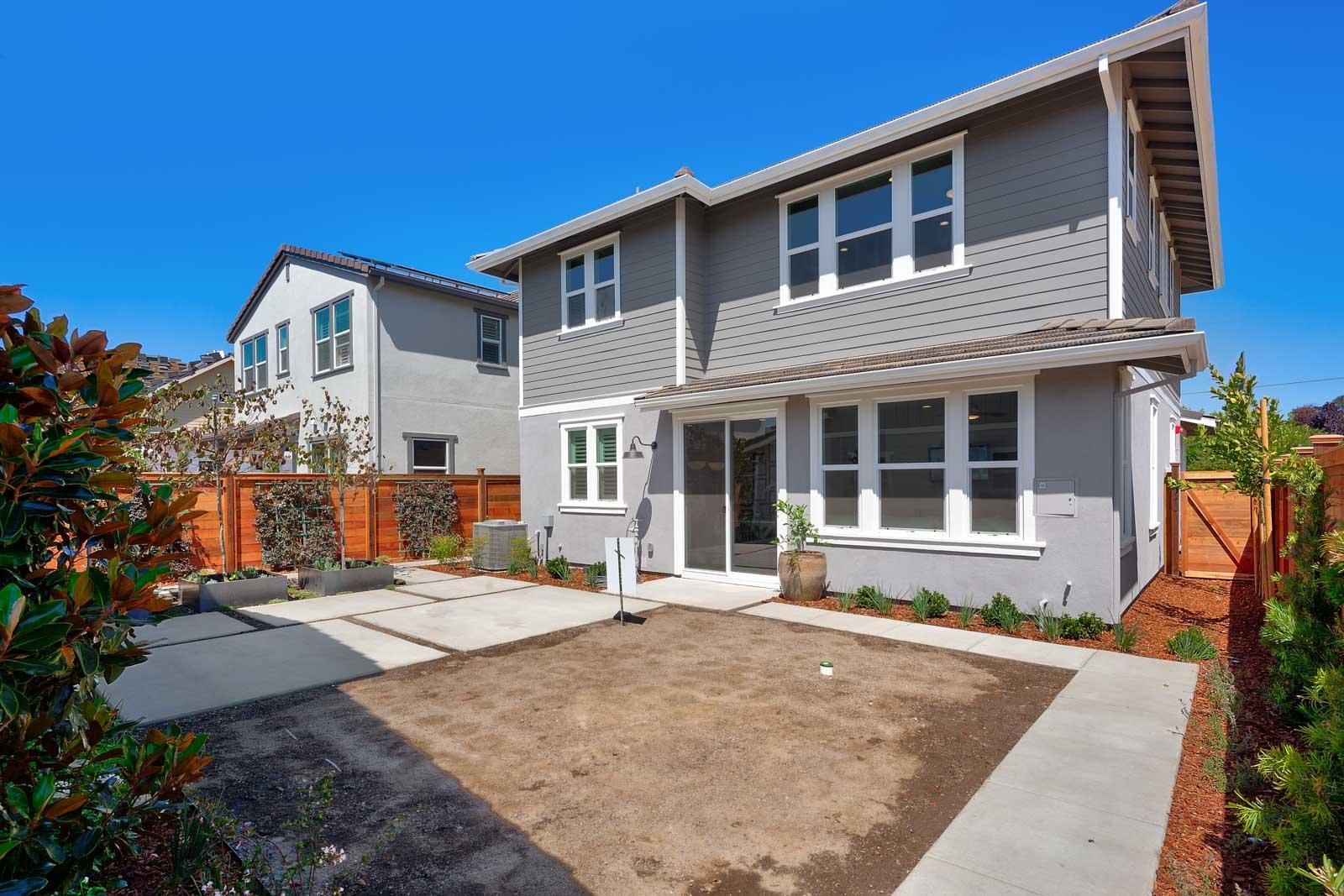 Residence 4 Backyard
