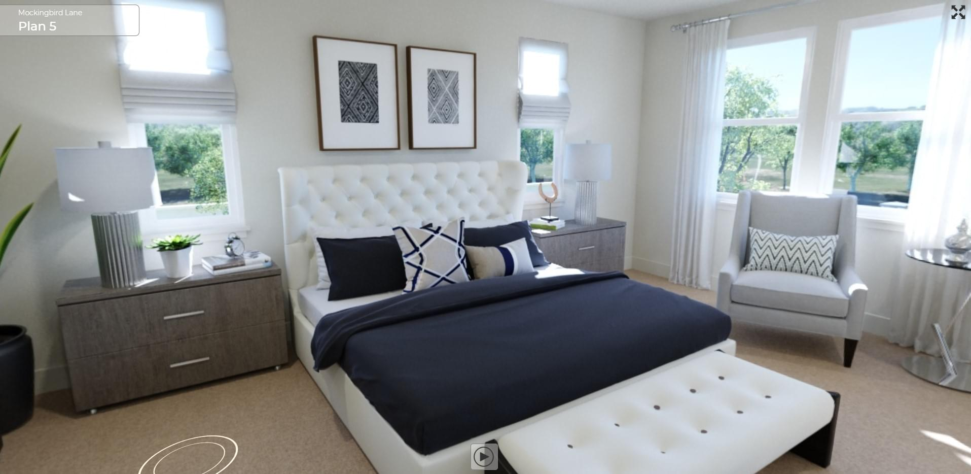 Residence 5 Master Bedroom
