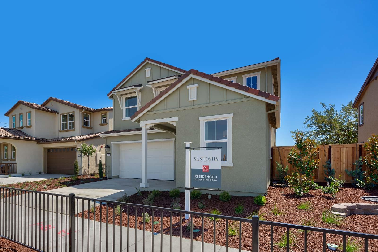 Residence 3 Farmhouse Elevation