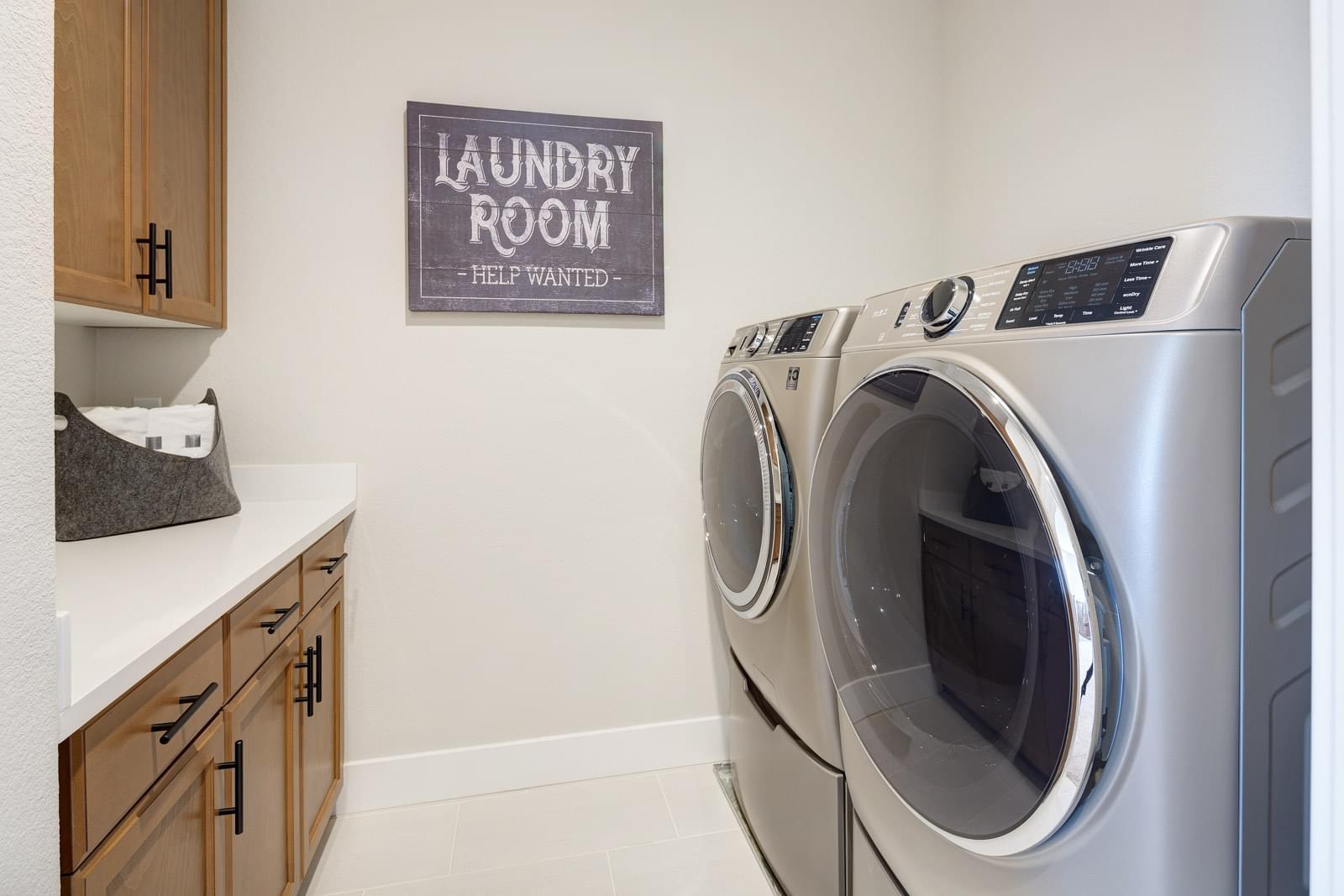 Residence 4 Laundry Room