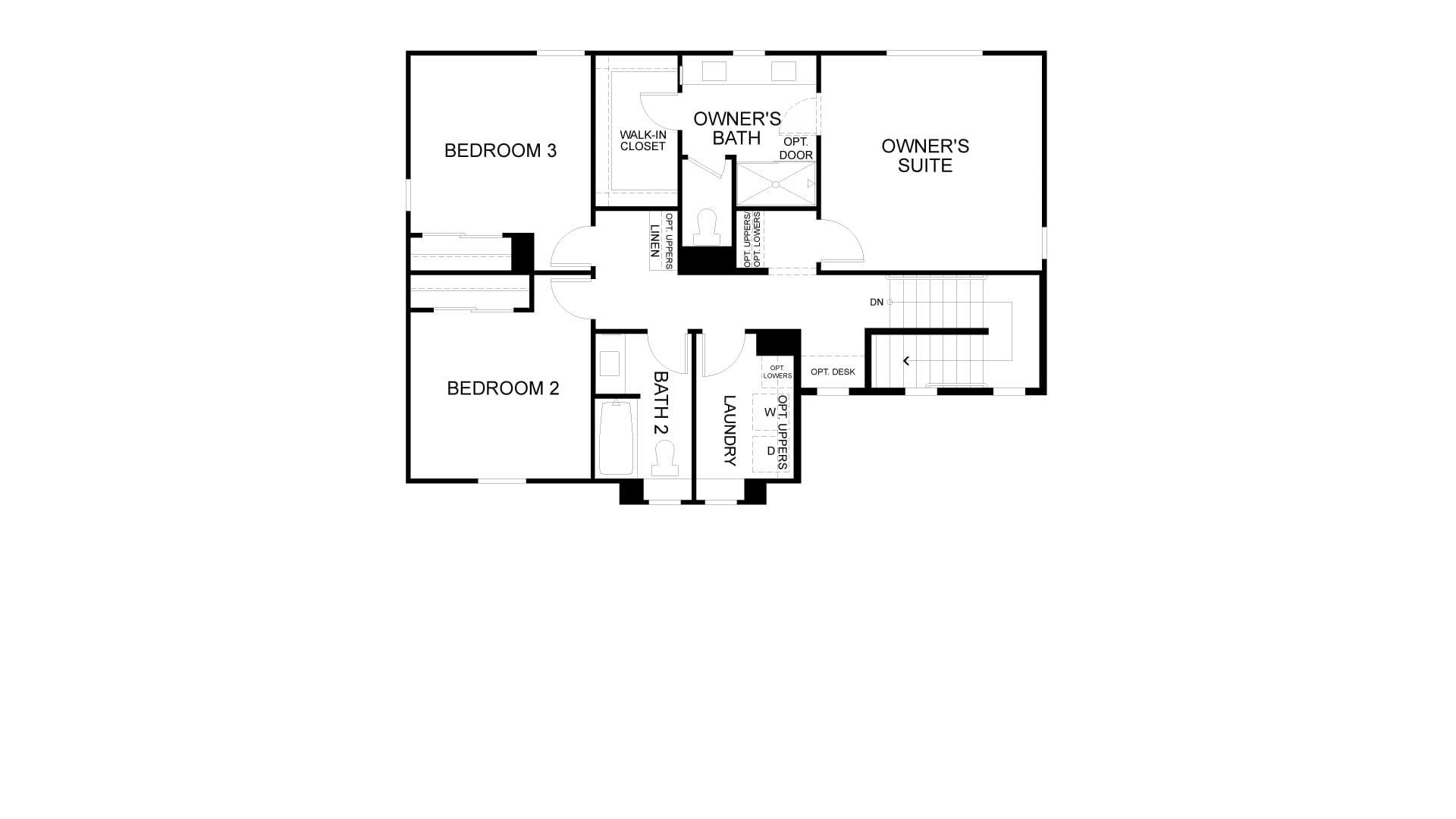 Second Floor. Antioch, CA New Home