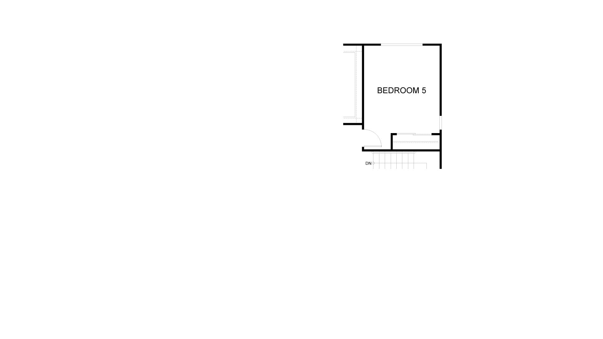 Bed 5 Option. Residence 4 New Home in Antioch, CA