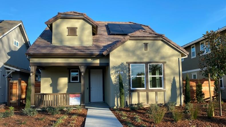 850 Hayes Street in Sonoma, CA by DeNova Homes