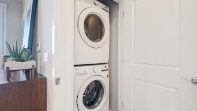 Residence 3 Stacked Washer & Dryer