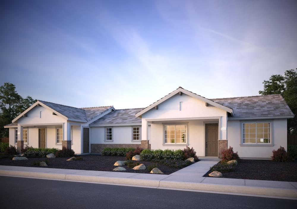 Residence 5 (Duet) DeNova Homes Floorplan