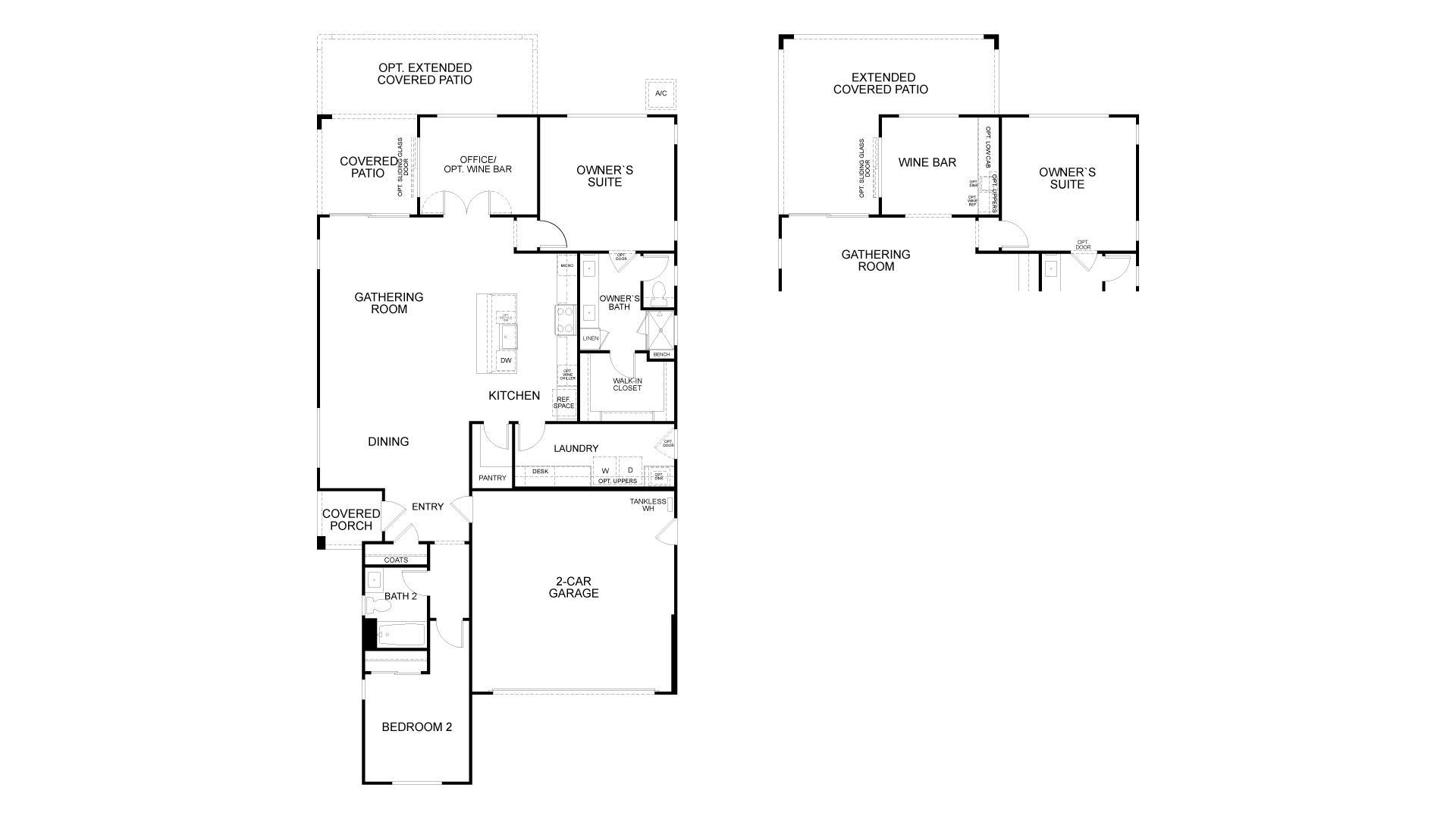 Floor Plan. Rio Vista, CA New Home