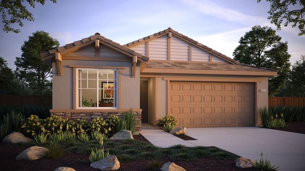 Residence 5 DeNova Homes Floorplan