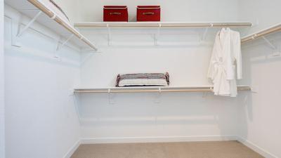 Owner's Walk In Closet
