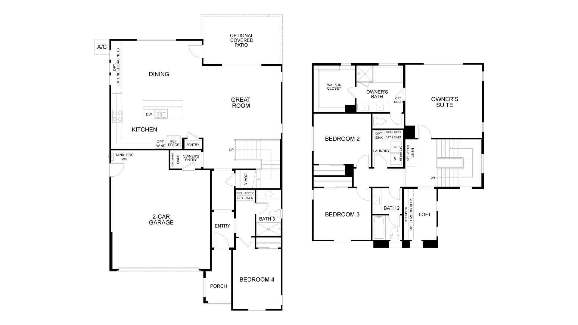 Floor Plan. Antioch, CA New Home