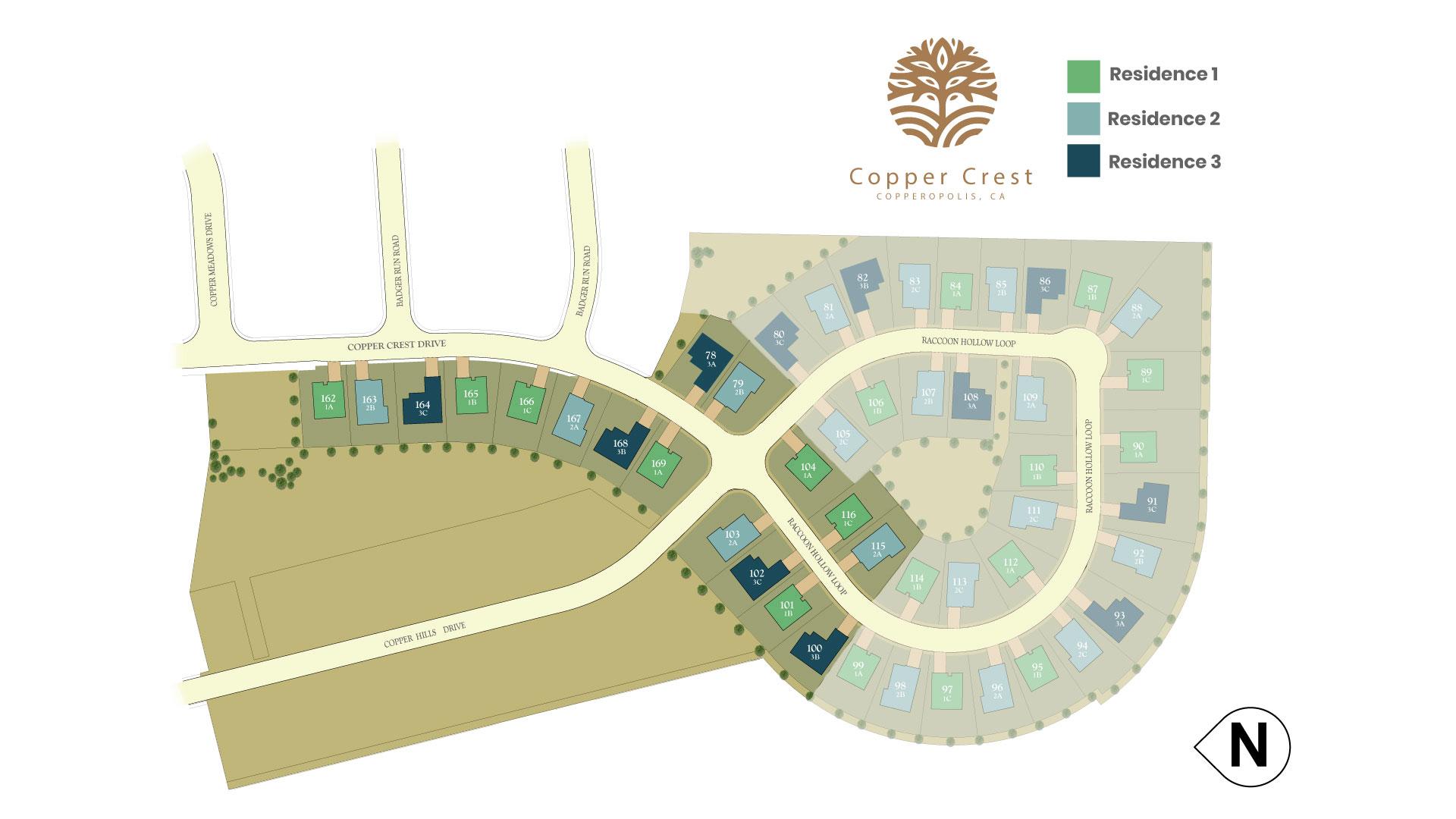 Copperopolis, CA New Homes. Copper Crest.